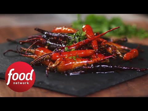 Coriander-Glazed Carrots | Food Network