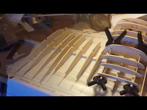 RC Airplane Pipper Seneca II Scratch Build Video 9