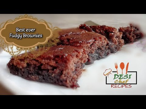 MOST FUDGY BROWNIES WITHOUT BUTTER RECIPE / HOW TO MAKE BROWNIES WITHOUT BUTTER