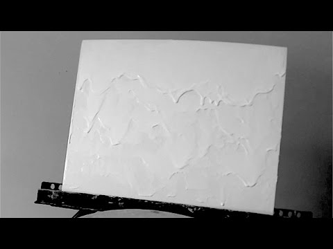 How to Texture a Canvas for Abstract Painting (Acrylic)!