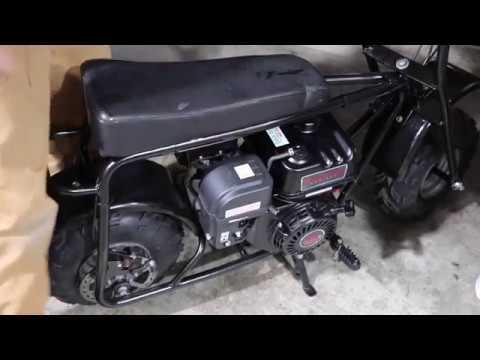Mini Bike Restoration : Part 4 Final Assembly and First Start Predator 212CC