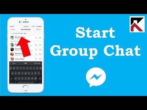 How To Start A Group Conversation In Facebook Messenger