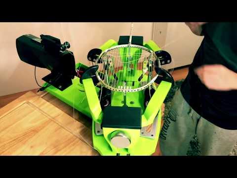 Super stringer T70 - Badminton racket stringing