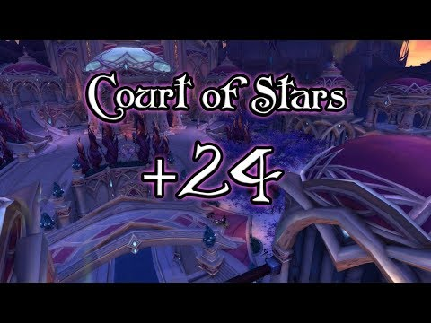 Court of Stars +24 (World of Warcraft 7.3.5)