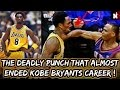 The Deadly Punch That Almost Ended Kobe Bryants Career