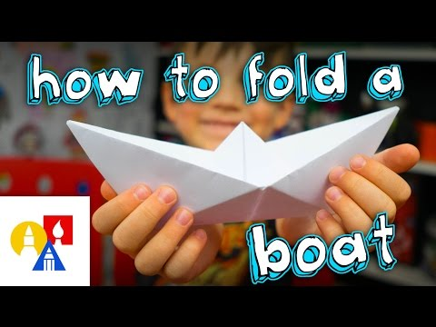 How To Fold A Simple Origami Boat + SYA