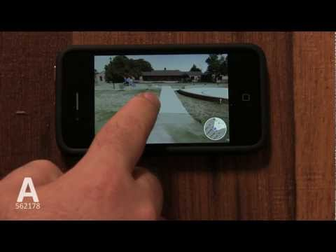 A: How to Use Street View On iPhone 4S/4/3GS - Tutorial 29