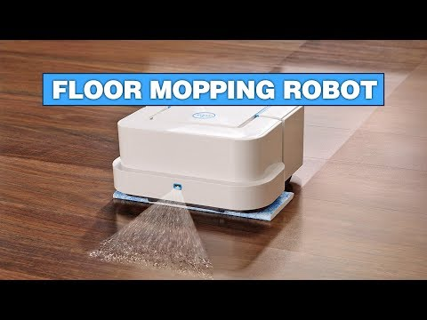 This Robot Will Sweep and Mop Your Floors