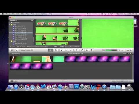 iMovie: Green Screen Tutorial