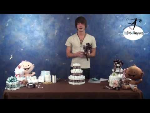 How To Make A Diaper Cake - Big Dot of Happiness