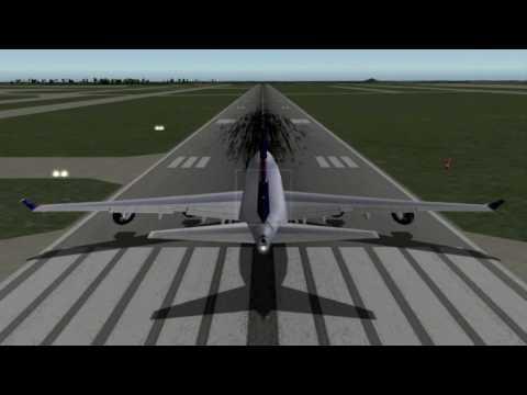 Boeing 747 Takeoff - Orlando Intl