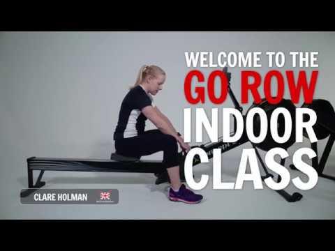 Go Row Indoor 20-minute workout #1