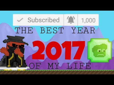 Best Moments of 2017!!! THE BEST YEAR OF MY LIFE!   Growtopia