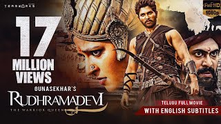 Rudhramadevi 3D Telugu Full HD Movie , Anushka Shetty, Allu Arjun, Rana , Gunasekhar