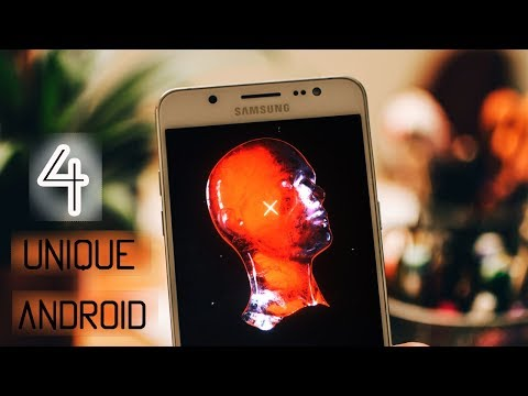 4 UNIQUE Android Apps! October 2017