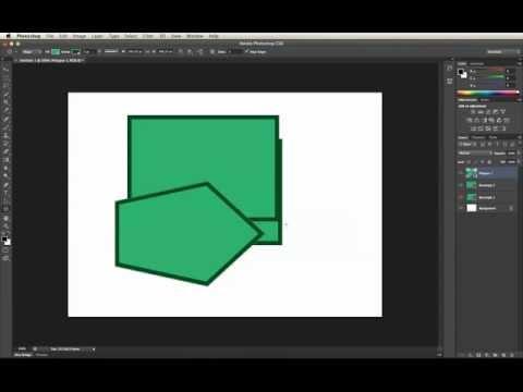 Adobe Photoshop CS6 Shape Layers: Creation Basics