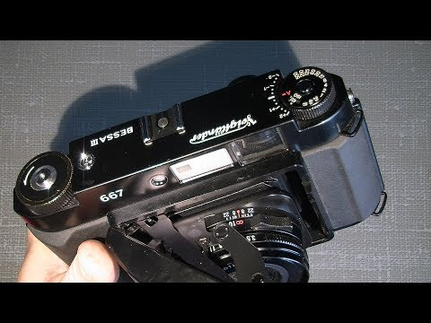 How to take off the top cover on Voigtländer Bessa III or Fuji GF670