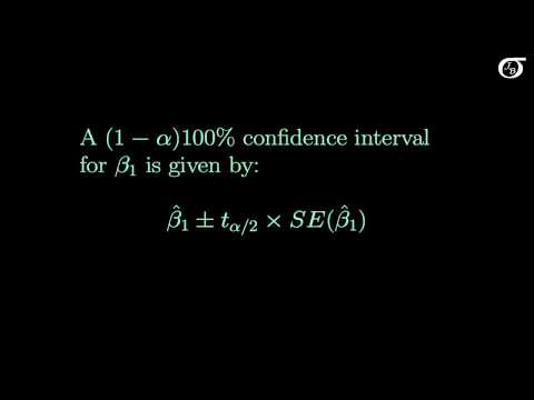 Inference on the Slope (The Formulas)