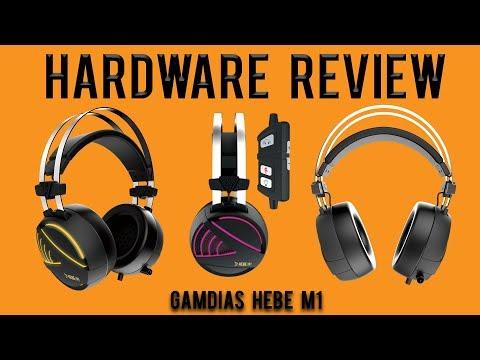 Hardware Review: GAMDIAS HEBE M1 RGB 7.1 Virtual Surround Sound Gaming Headset