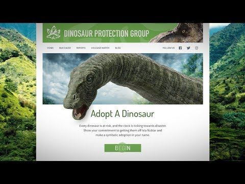 Jurassic World: Fallen Kingdom - Adopt A Dino [HD]