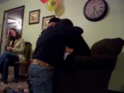 Lesbian couples wedding proposal