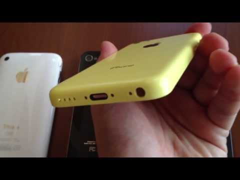 Leaked Footage of the new iPhone 5C / 5S