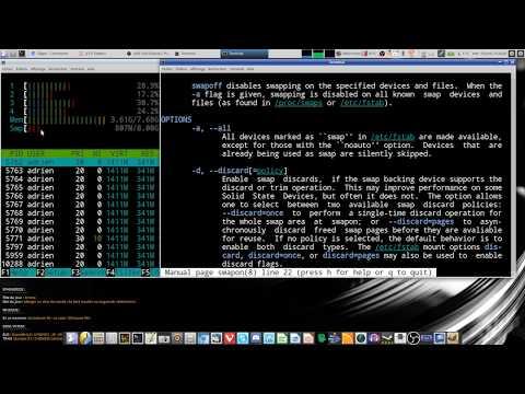 Réinjecter tout le SWAP en RAM sous Linux !