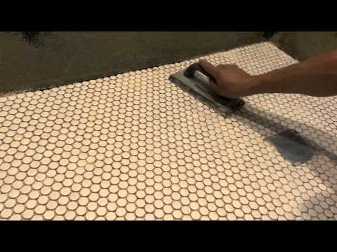 How to install mosaic tiles