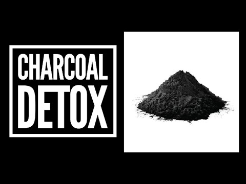 Activated charcoal detox #tip6