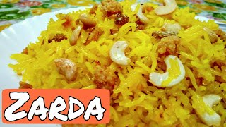How to make Zafrani Zarda with an Orange Twist
