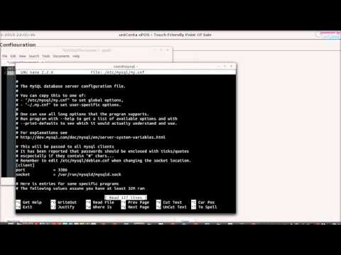 Unicenta MySQL Database Remote Connection Howto