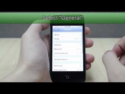 How to Change the Language on Apple iPhone 4