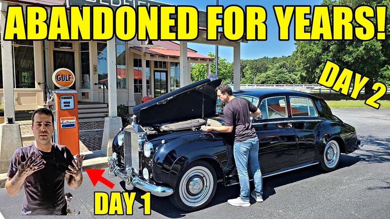 I Bought A Broken Rolls-Royce 1000 Miles From Home! 1 Day To Fix EVERYTHING Before Hitting The Road!