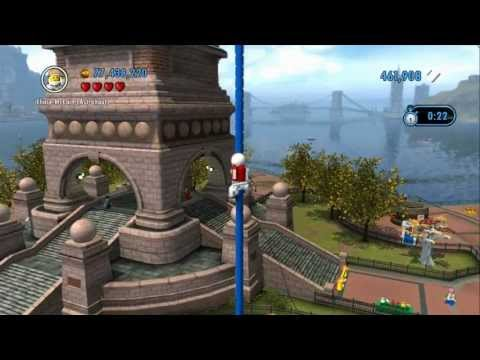LEGO City Undercover - All 19 Free Runs Completed
