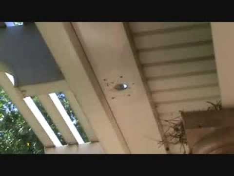 How to prevent a patio awning gutter clog