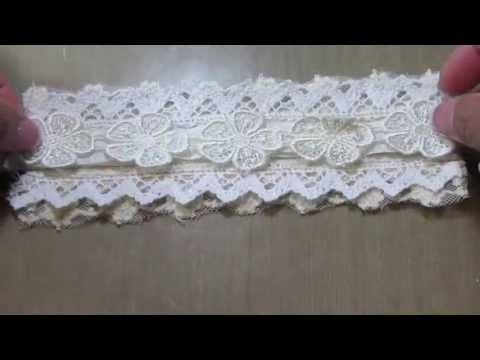 Shabby Chic Lace/Cuff bracelet Tutorial!!
