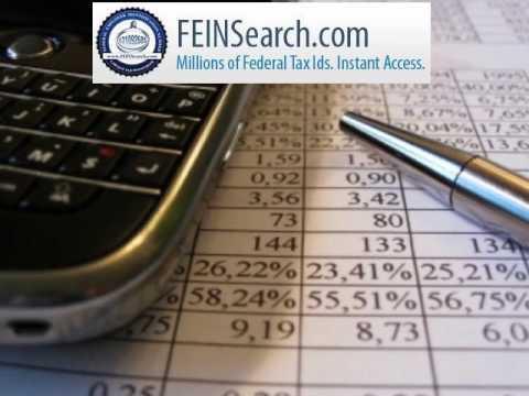 FeinSearch.com - TAX ID Search, Find Tax ID Numbers, EIN Search ,Federal Tax ID,Validate EIN