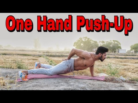 How To Do One Hand Push-Up | One Arm Pushup Step by Step Guide