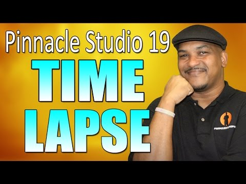 Pinnacle Studio 19 Ultimate - Photo Time-Lapse Tutorial