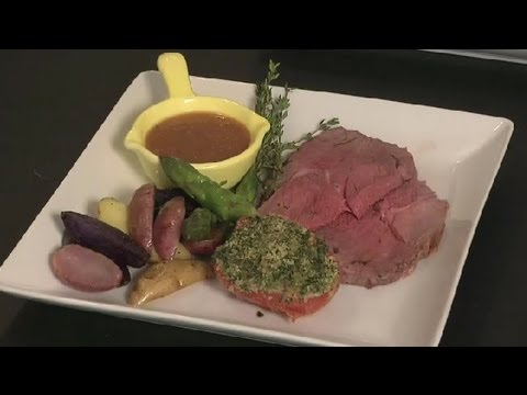 How to Cook Roast Leg of Lamb : Southern French Cooking