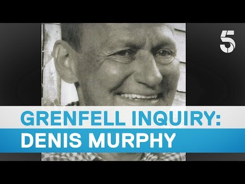 Denis Murphy remembered at Grenfell inquiry - 5 News