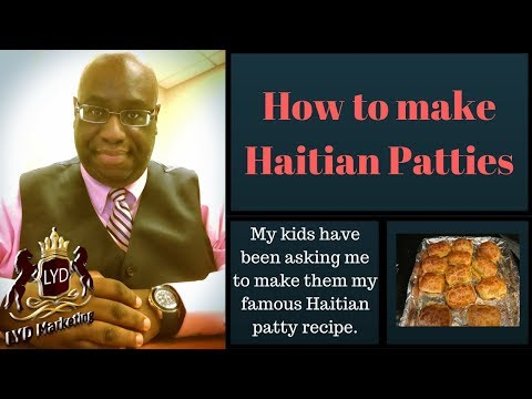 How to make Haitian Patties