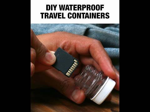 DIY Waterproof Containers Are Perfect For Travel-NIFTY