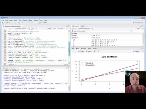 Lecture29 (Data2Decision) Weighted Regression in R