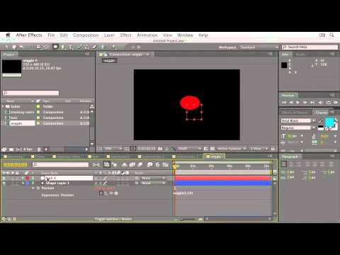 Adobe After Effects CS5  PARENTING & BASIC EXPRESSIONS  Wiggle & Looping Expressions