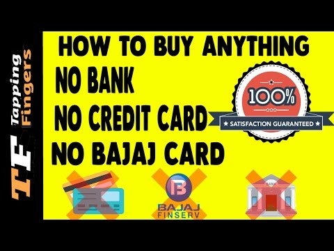Buy anything on Emi- NO CREDIT CARD