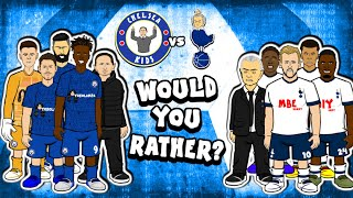 🤣Chelsea vs Spurs: WOULD YOU RATHER?🤣 (Tottenham Preview 2-1 Lo Celso Tackle 2020)