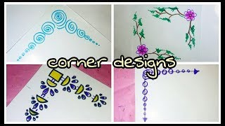 simple corner designs Videos - 9tube.tv