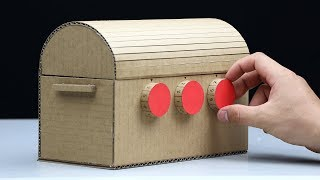 How to Make Treasure Chest with 3 Digit Password