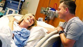 BEAUTIFUL LIVE BIRTH! (Ellie And Jared Birth Vlog)